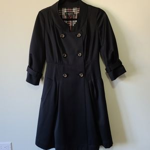 Givh Shyh lined double breasted jacket fit & flare
